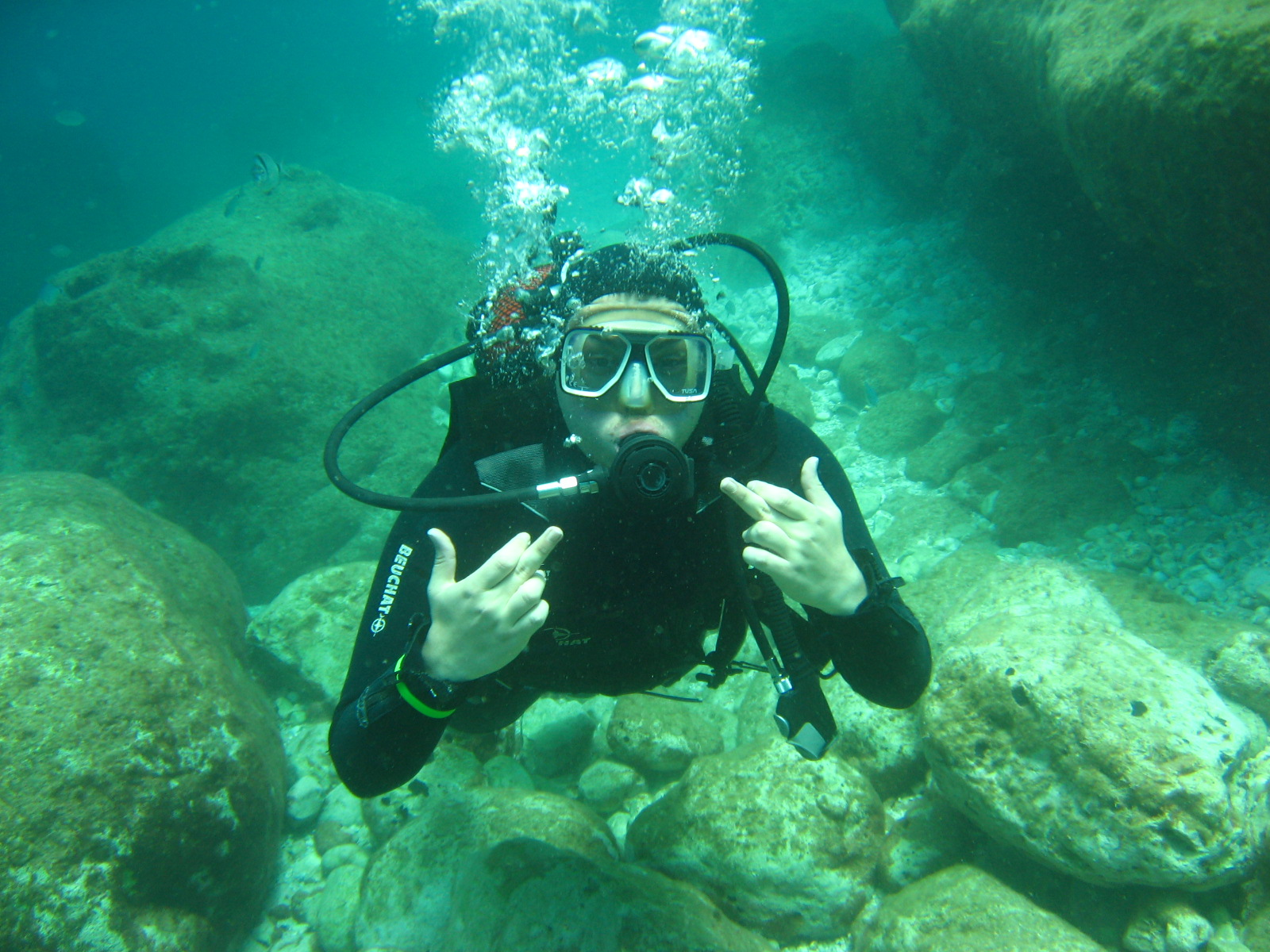 Scuba diving tour pictures